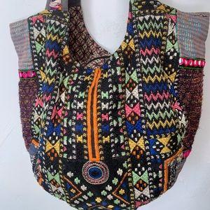 Tribal boho shoulder bag